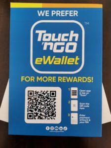 Touch n Go eWallet Malaysia